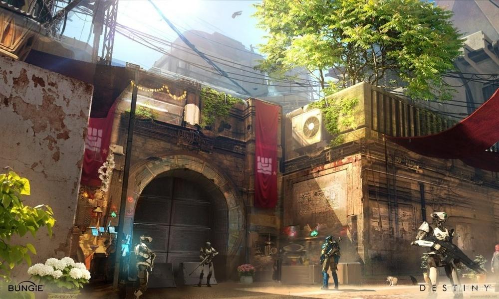 早先设定中协约派的要塞,在正式游戏中其标志有所改动