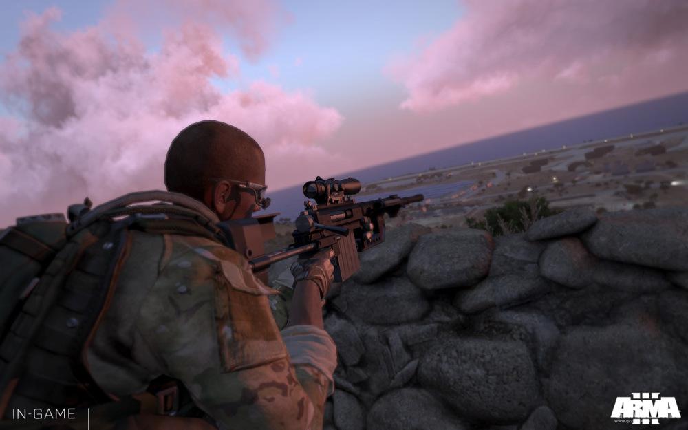 使用M320的狙击手