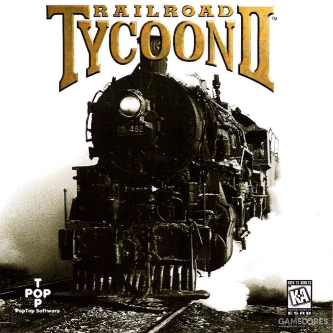 《Railroad Tycon II(铁路大亨)》的原版封面