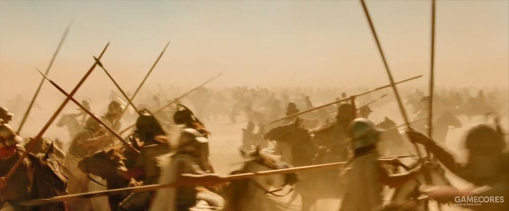 激烈的骑兵大战最后由亚历山大决出了胜利