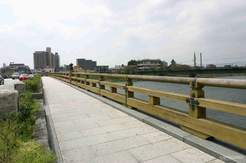 今天的宇治桥
