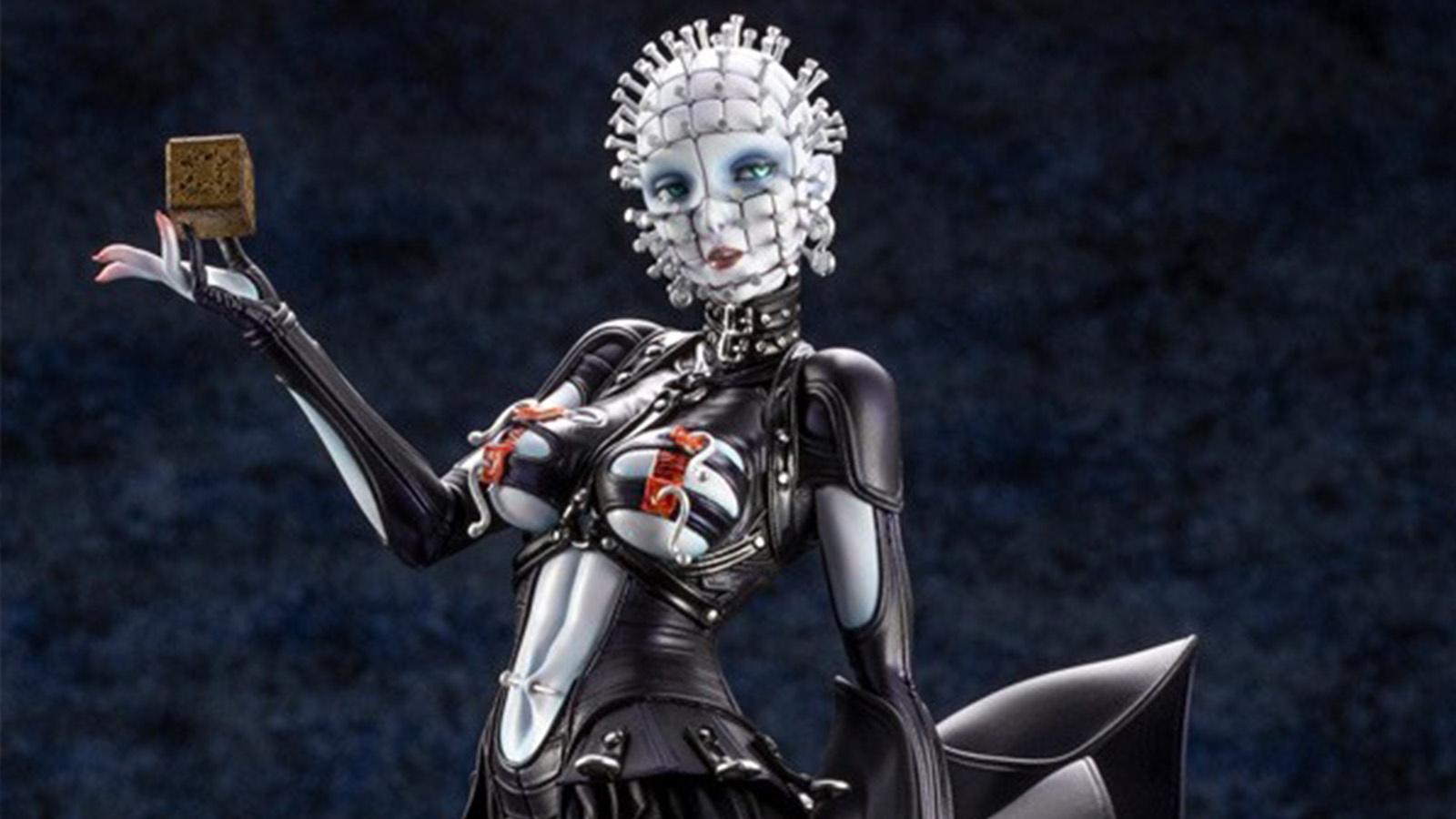 壽屋公開恐怖美少女系列《養鬼吃人3》釘子頭模型色樣