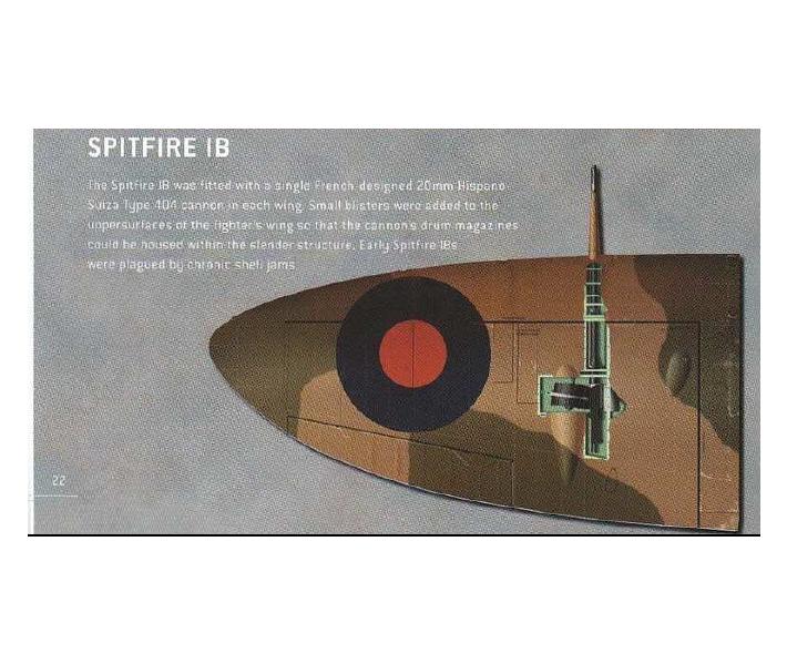 """""""喷火""""IB最早引入了20mm机炮"""
