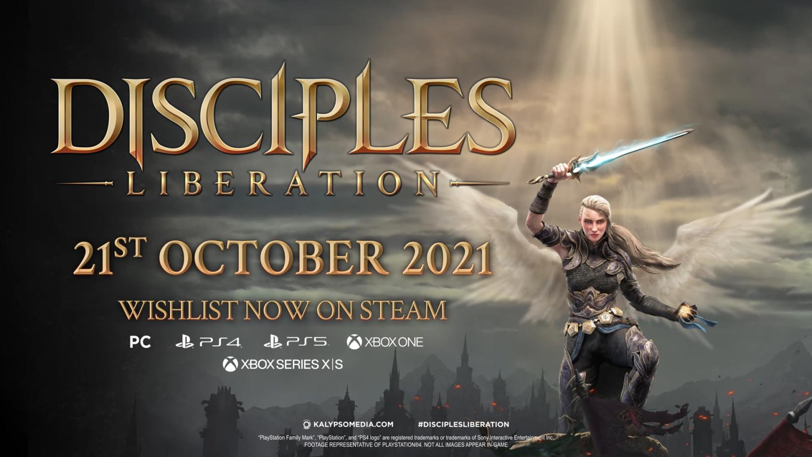 """《圣战群英传:解放》放出""""同伴""""预告片,游戏将于10月21日发售"""