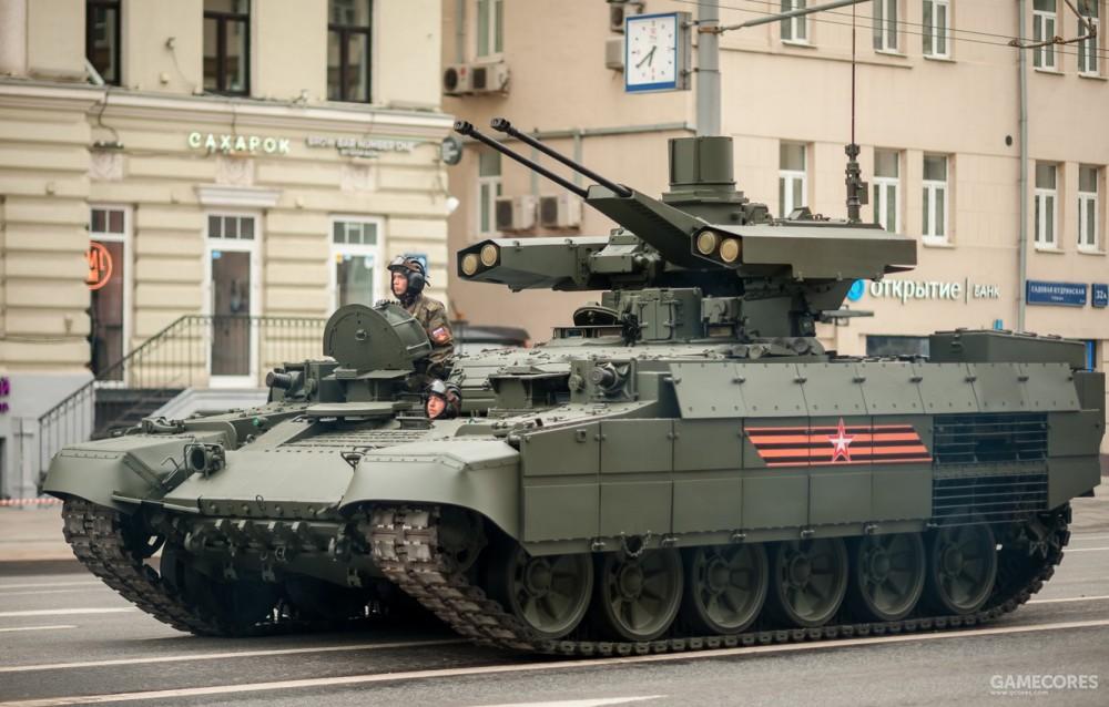BMPT并不是步兵战车,而是步兵支援战车。它只能搭载5人,也没有大幅度改变T-72的结构