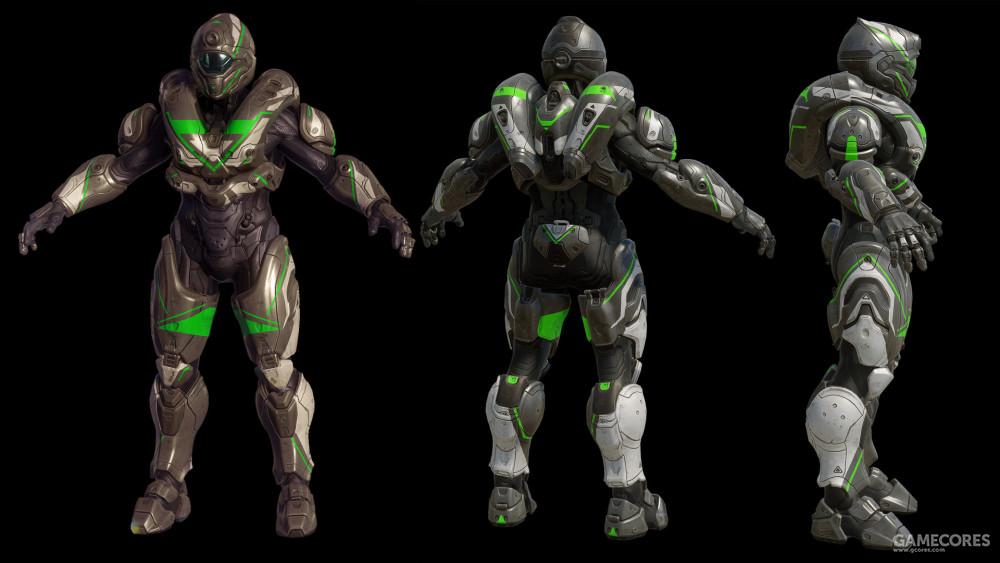 """为斯巴达四期项目设计的""""毒刺""""盔甲"""