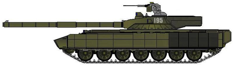T-95的一种设想