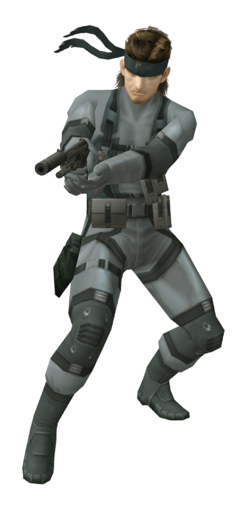 《潜龙谍影2:自由之子》(Solid Snake)