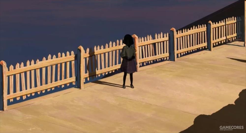 这个孤独的小女孩,让人印象深刻。让人不禁在想,人类是否也毁掉她的身形,盖起房子