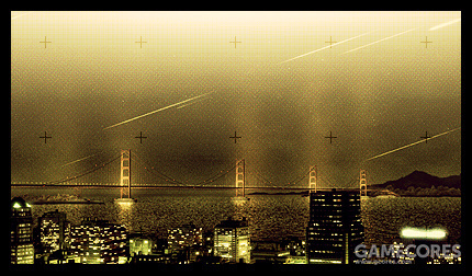 在Emmeria首都Gracemaria上空划过的Ulysses流星雨