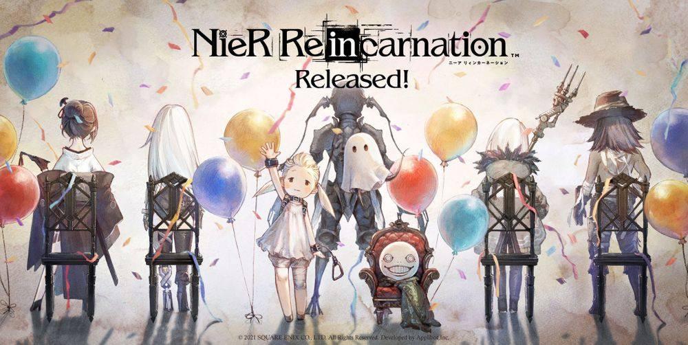 《尼尔》系列手游《NieR Re[in]carnation》今日开服