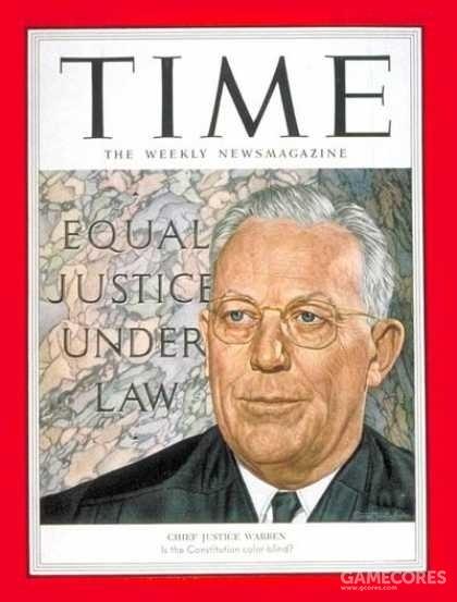 厄尔·沃伦(Earl Warren,1891年3月19日-1974年7月9日)是美国著名政治家、法学家,担任过美国加利福尼亚州州长,1953年至1969年期间担任美国首席大法官。在担任首席大法官期间,美国最高法院做出了很多涉及种族隔离、民权、政教分离、逮捕程序等著名判例。2006年,沃伦被美国的权威期刊《大西洋月刊》评为影响美国的100位人物之一(名列第29位)。
