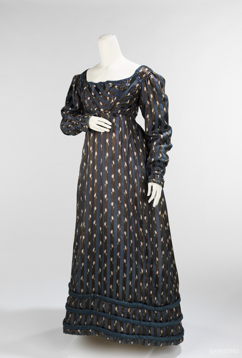 Dinner Dress, c 1820 (MET)