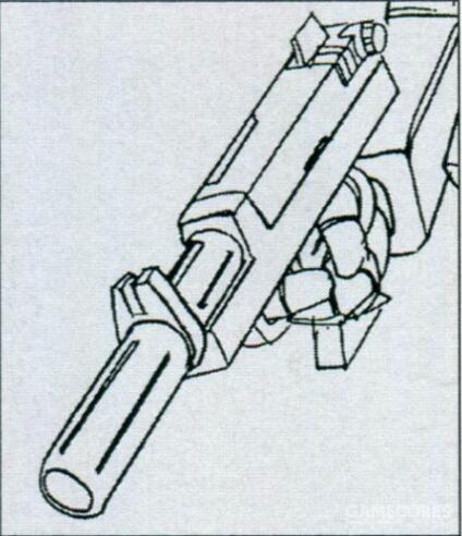除了标准的光束喷枪外,RGM-79L还能装备一款轻量型的专用光束步枪。威力上能做到对MS目标一击致命。射击次数上就削减到了个位数。而对于一击脱离战术来说显得累赘的60mm火神炮则作为减重手段被移除了。