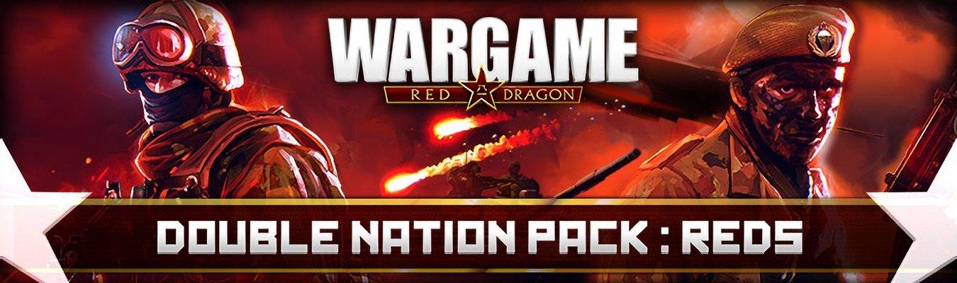 《战争游戏:红龙》的新DLC红色阵营双国家包已上线