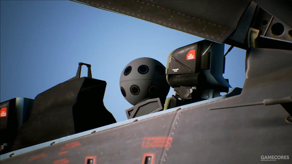 后座直接是一台类似于星球大战里的R2D2的辅助机器人