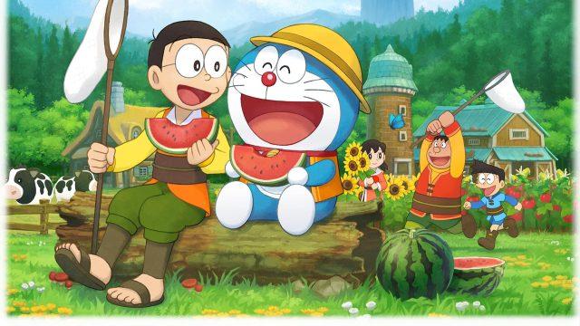 并无恋爱、结婚要素,《哆啦A梦 牧场物语》NS中文版7月25日发售