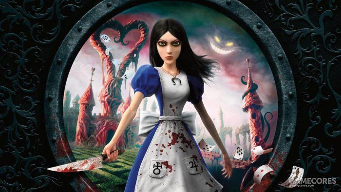 《爱丽丝:疯狂回归》游戏封面