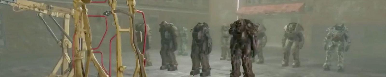 《辐射4》这间神秘屋藏着所有动力装甲