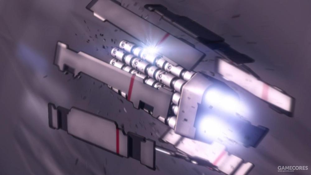 正在释放集束导弹的MITV吊舱
