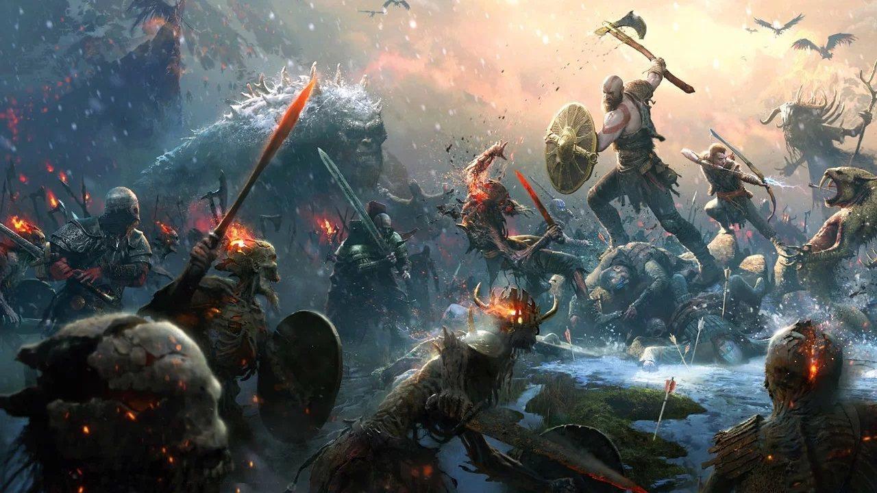 《战神》推出免费节日礼物包,玩家可领取预购奖励