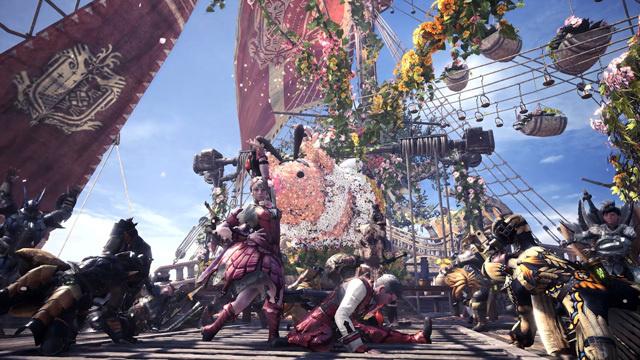 """《怪物猎人:世界》""""开花之宴""""再临,主机与PC版同步上线"""