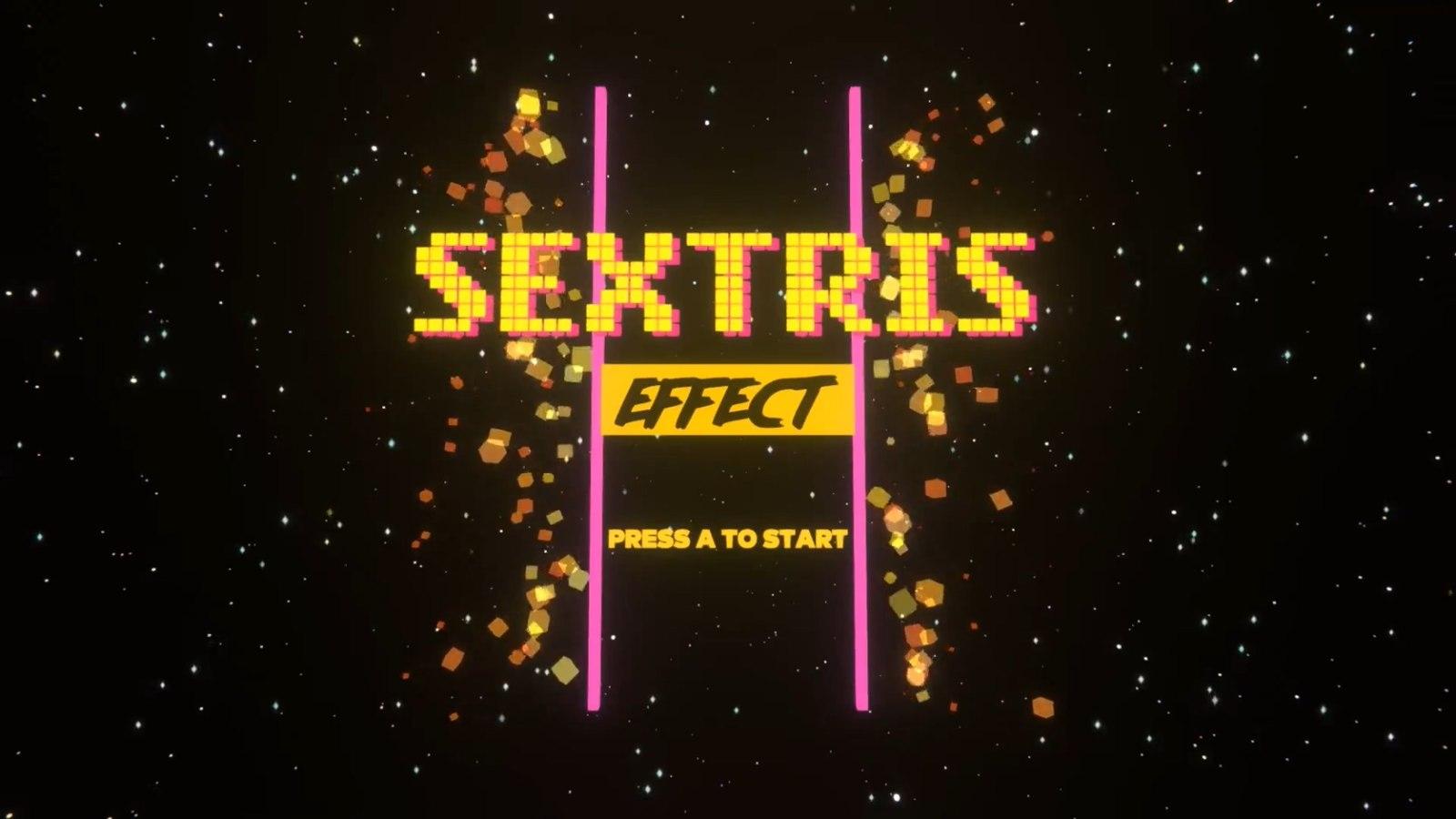 我怀疑你在搞XX,《Sextris Effect》登陆Steam平台
