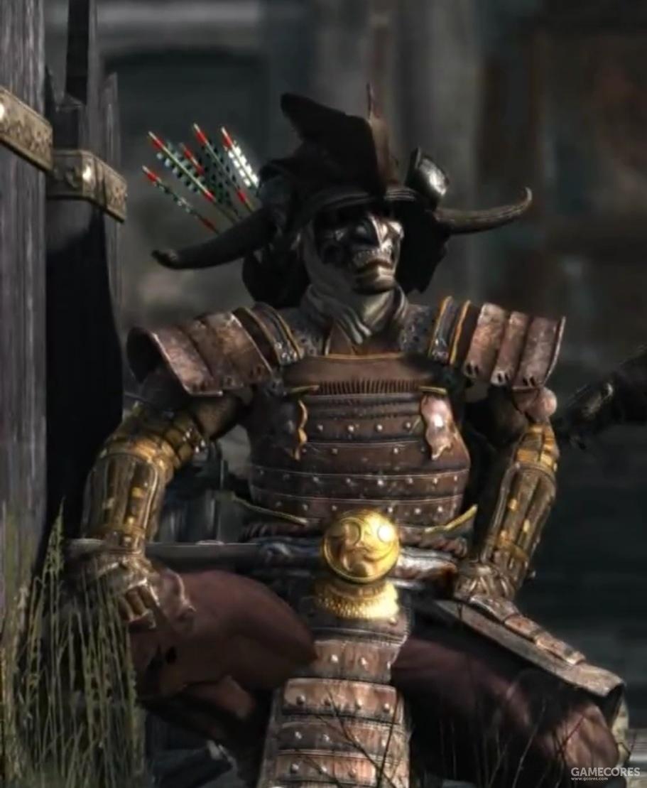 风暴武士作为超自然战士登场。一开始我还奇怪卑弥呼不是弥生时代的人么,为什么这帮武士都穿着镰仓甚至是战国时代的盔甲?看设定才知道这些确实是12世纪的人。
