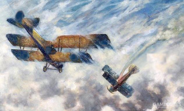 历史上的第一次空战,两架飞机之间的西部牛仔式对决