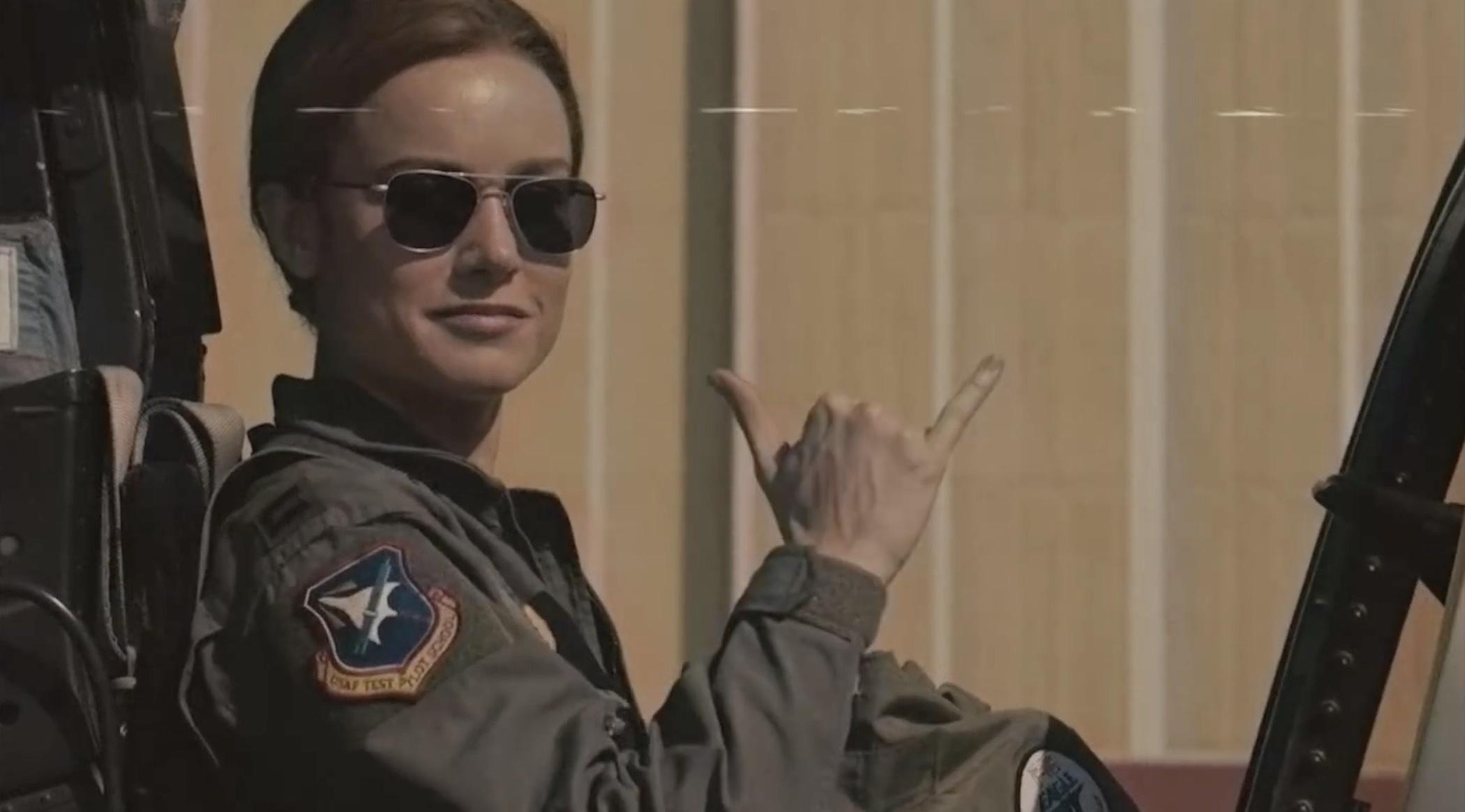 如果《驚奇隊長》是一部90年代的電影,它的預告片會是這樣
