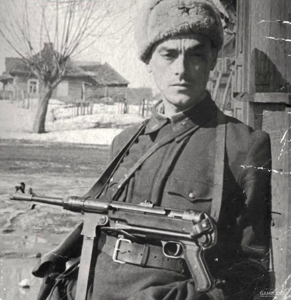 军旅生活中的父亲阿尔谢尼伊·塔可夫斯基