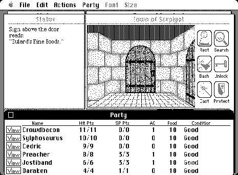 Macintosh port (1987)
