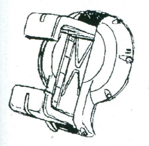 腰后的挂架用于携带第二把ZUX-194。腰部两侧的挂架则主要用于携带铁拳火箭。