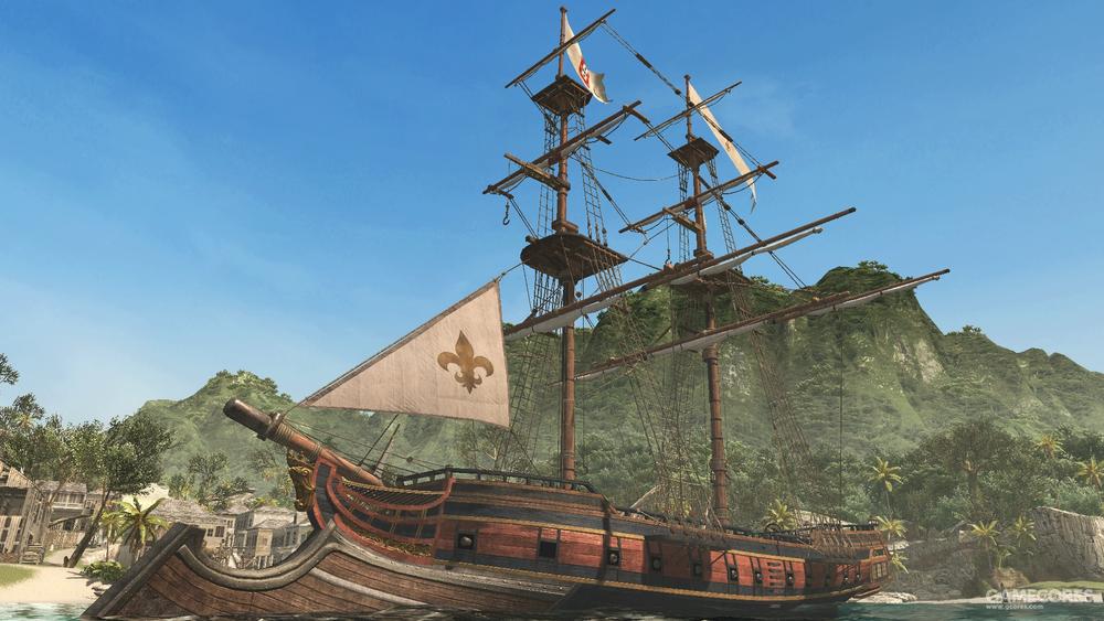 自由呐喊中的法国商船Vantour号