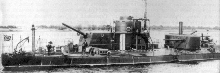 shkval号,前后炮塔改装成单装152毫米炮