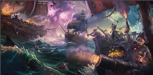 藏宝图,加农炮与朗姆酒:在《盗贼之海》上畅游