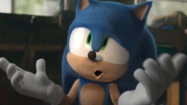 这么一改是不是就顺眼了,把动画版索尼克做到真人电影中