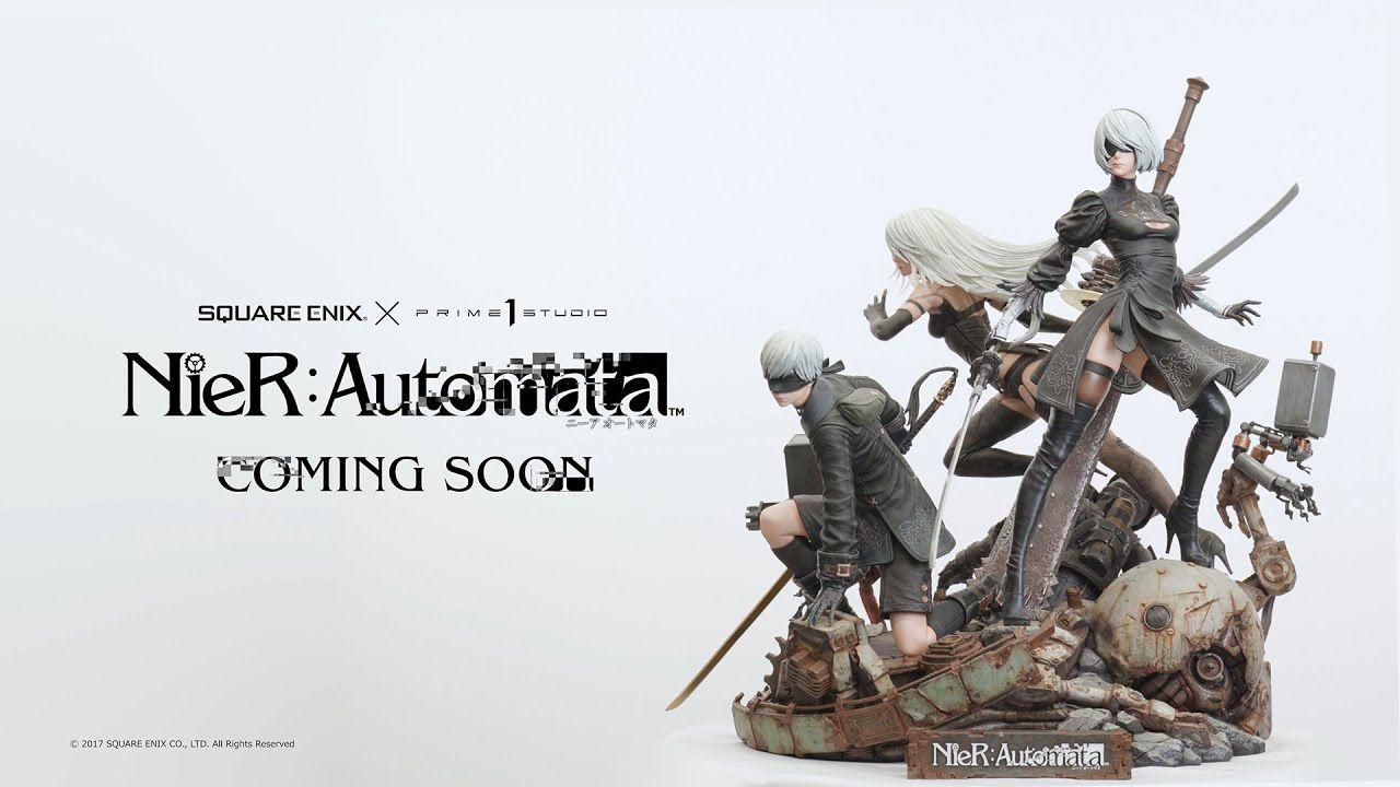 《尼尔:自动人形》主角雕像开启预约,2021年末出货