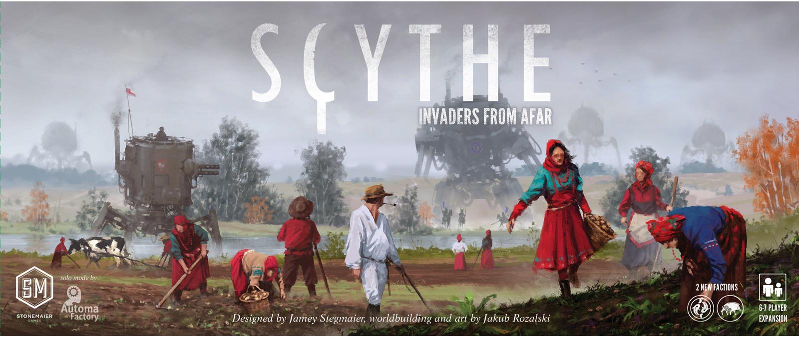 《戰鐮Scythe》:一部有關鋼鐵與收割的桌上架空史詩