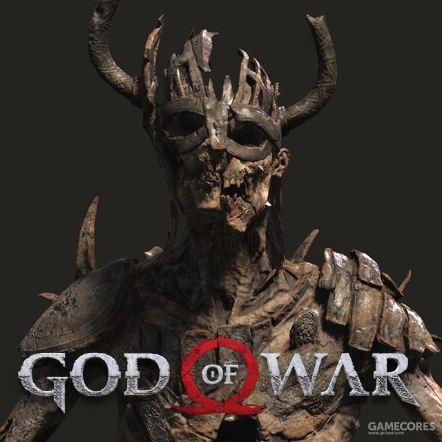 《战神》中的Draugr