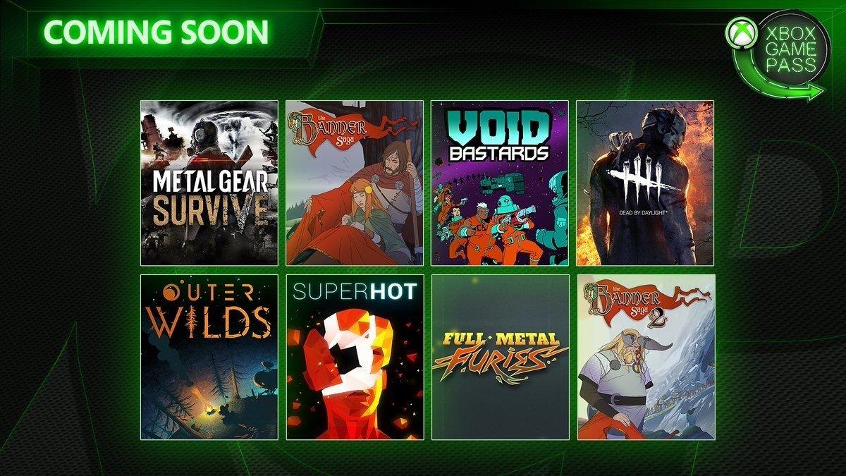《黎明杀机》,《Super Hot》等8款游戏即将加入 Xbox Game Pass