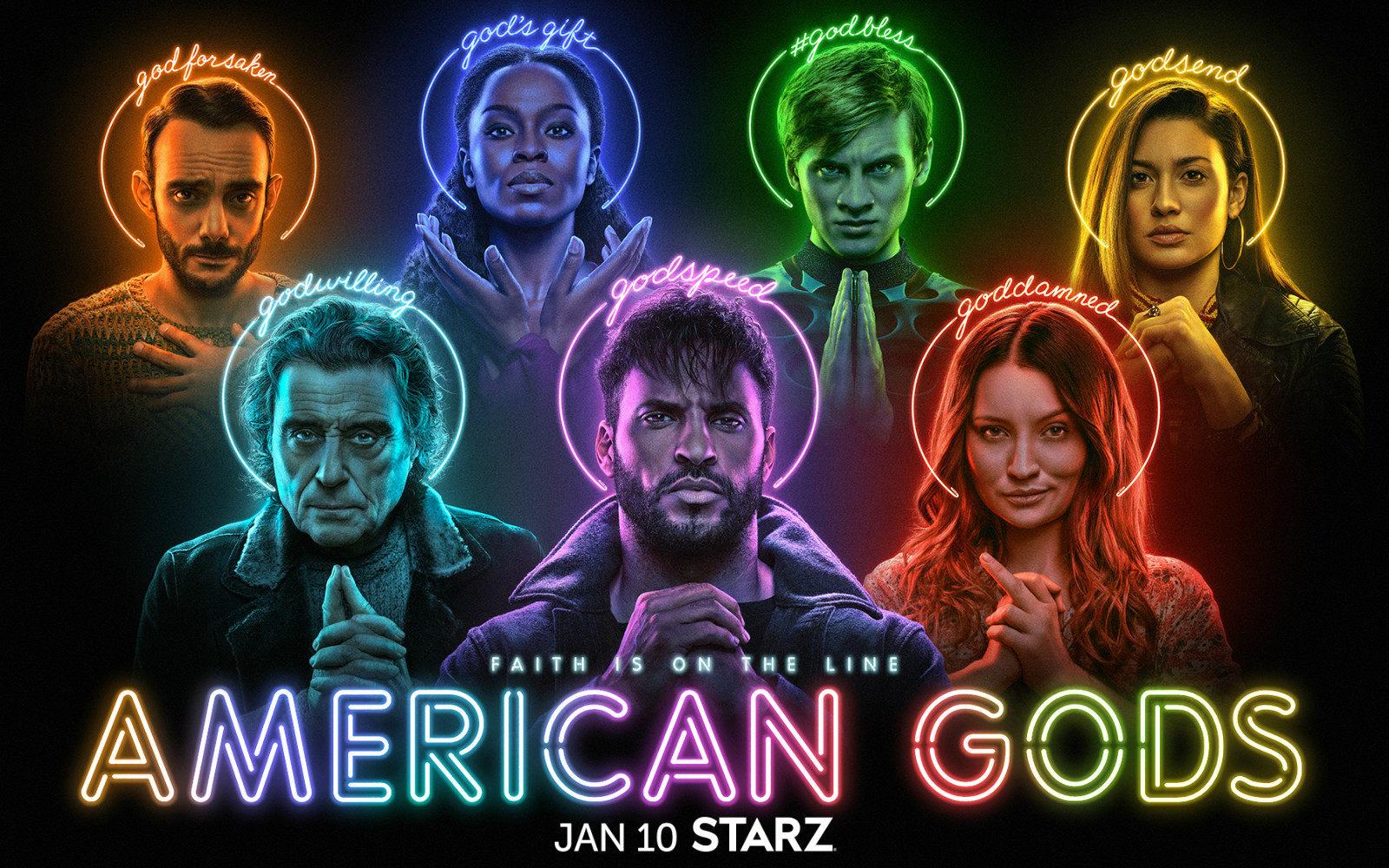 《美国众神》第三季发布预告,将于明年1月10日播出
