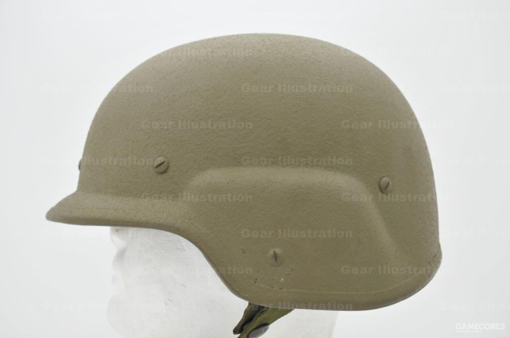 PASGT头盔侧面