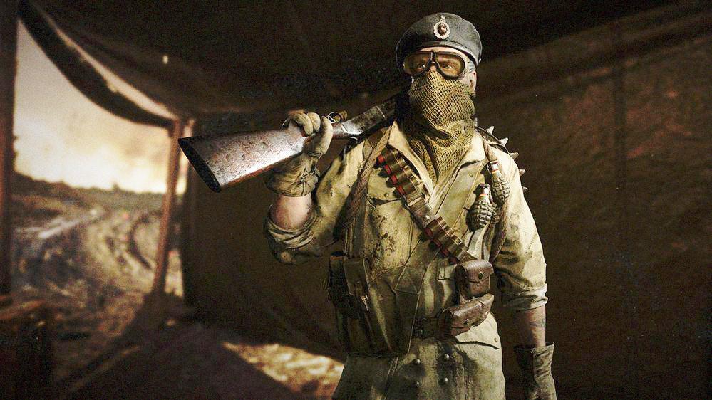 這位在《使命召喚:二戰》中幹掉7600個對手的玩家是個盲人