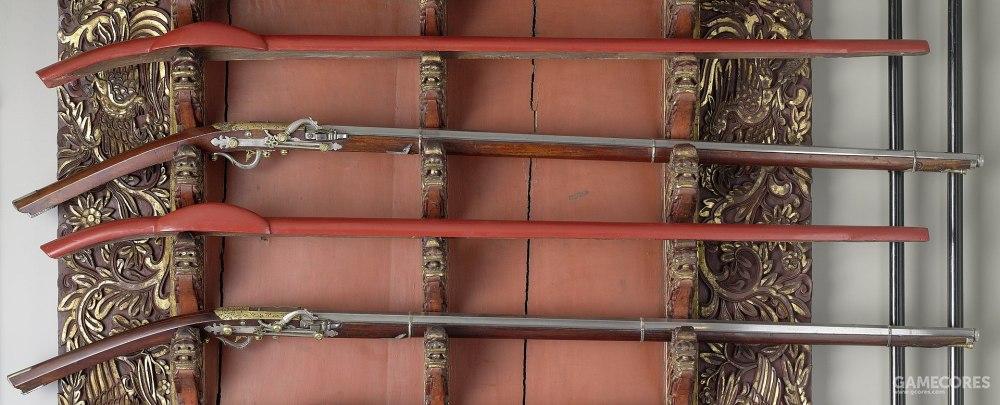 17世纪越南火绳枪,东亚火绳枪多是由葡萄牙人带来的