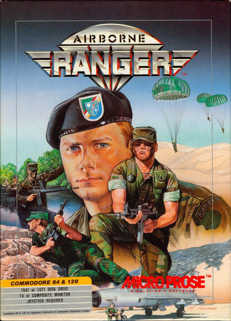 Airborne Ranger(MicroProse,1987)