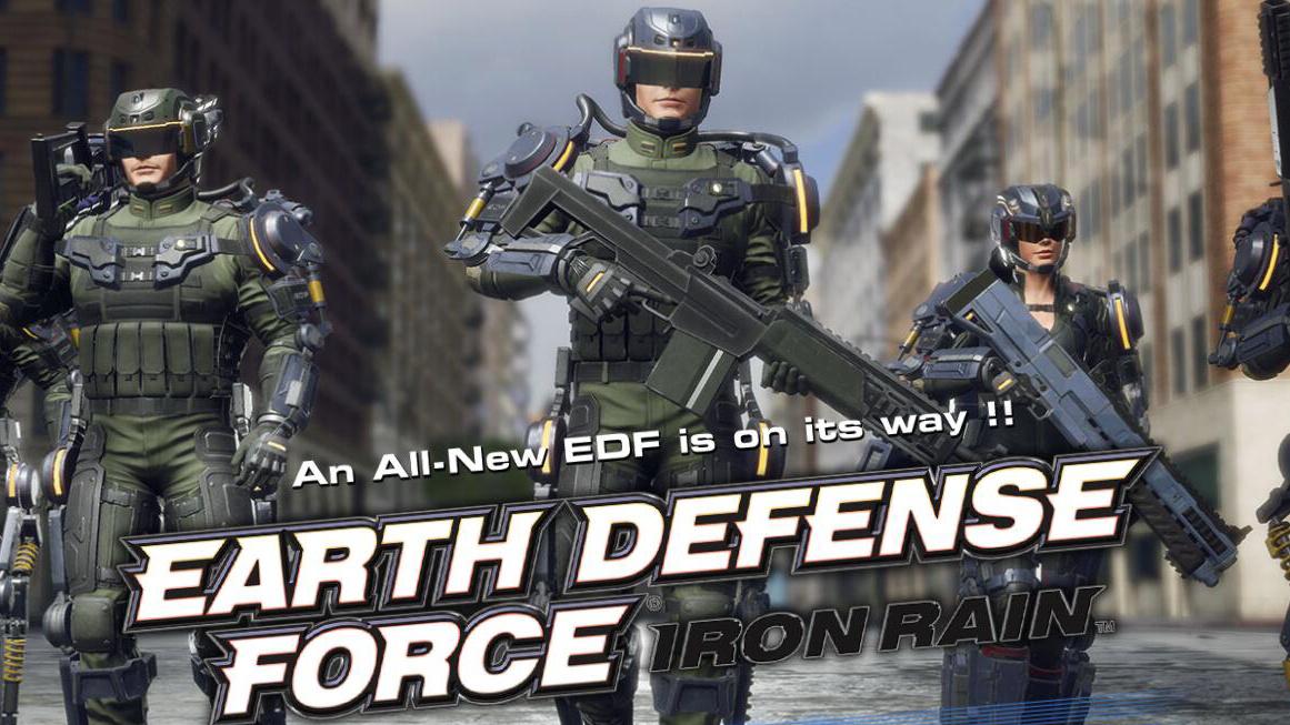 如何評價一個透露出貧窮氣息的遊戲:《地球防衛軍:鐵雨》