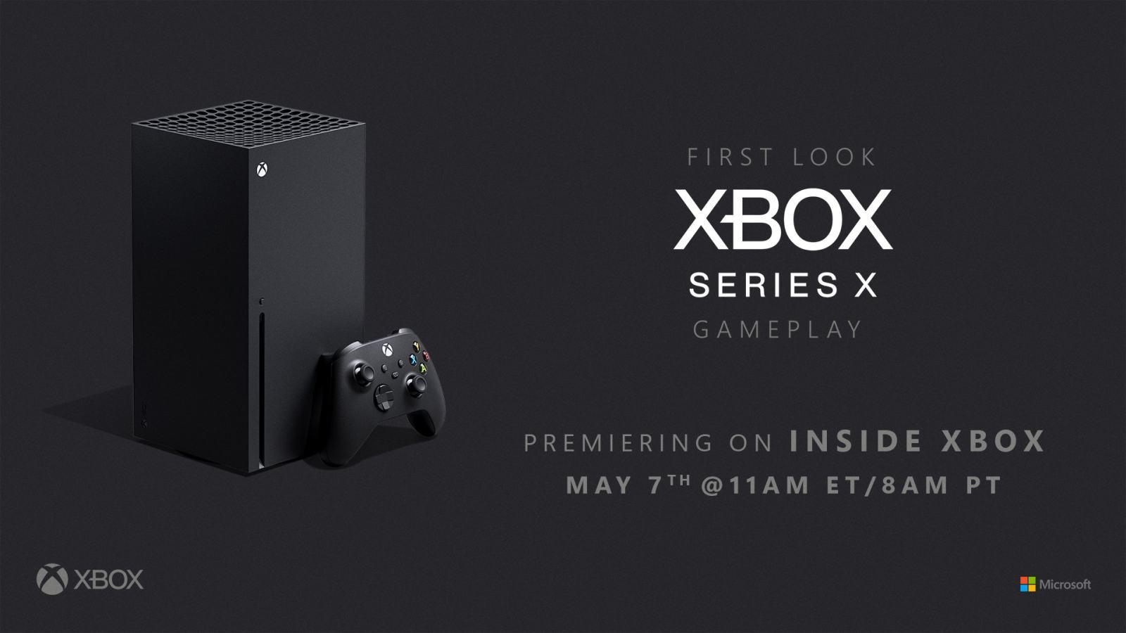 感受真实,Xbox Series X 游戏演示活动定档5月7日