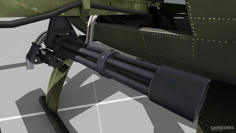 AH-9携带的机枪