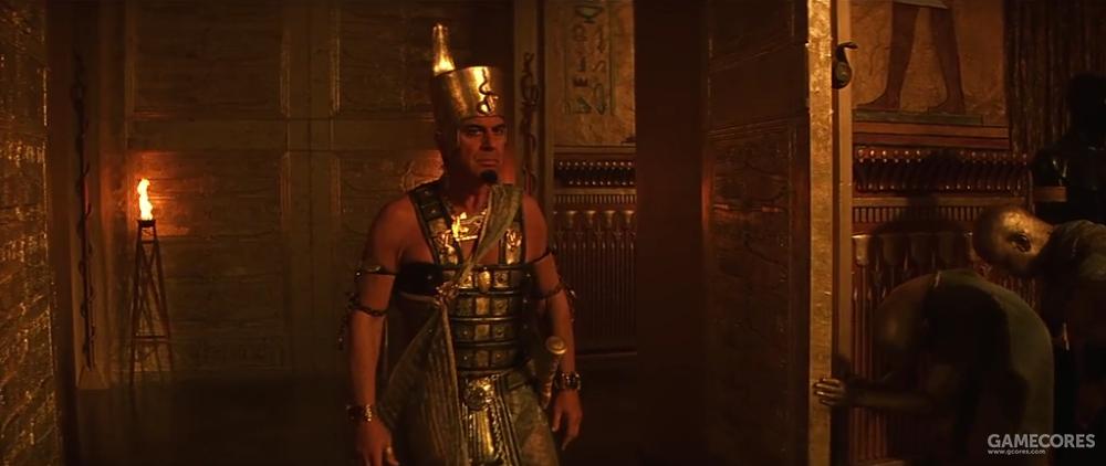 《木乃伊》中的塞提一世,随即被刺死